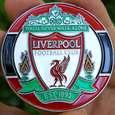 PREMIUM Liverpool Football Club Poker Card Protector Collector Coin Soccer