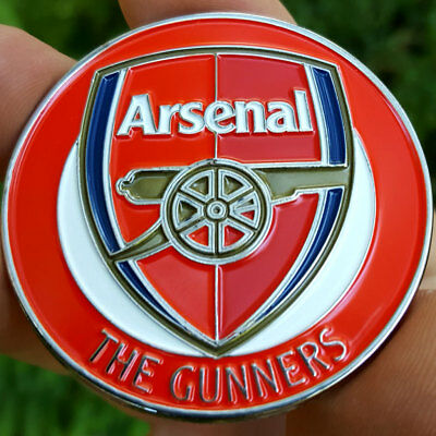 PREMIUM Arsenal The Gunners Football Poker Card Protector Collector Coin Soccer