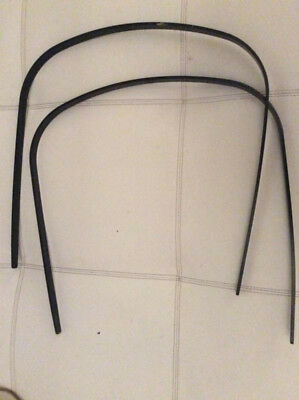 Pair Bugaboo Cameleon frog Stroller Plastic Hood Wire/Canopy Rod Sticks PARTS