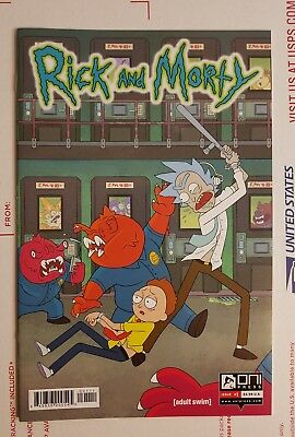 RICK AND MORTY 1 ONI PRESS FIRST PRINTING Adult Swim Justin Roiland Dan Harmon