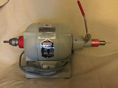Red Wing 16B Dental Lathe with Quick Chuck