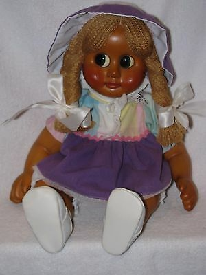 "18"" Molded Wood Doll Milli #1 Naber Kids Doll SIGNED By Harald Naber W/Papers"