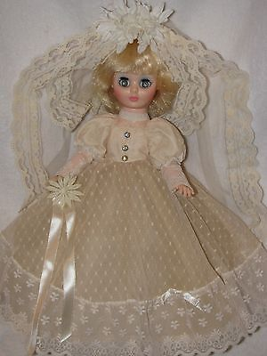 "Beautiful 14"" Vogue Bride Doll 1974"