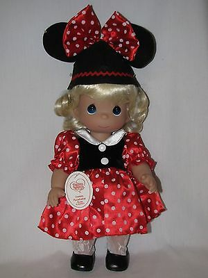 """New 12"""" Precious Moments Disney Mouseketeer Doll Blonde Hair"""