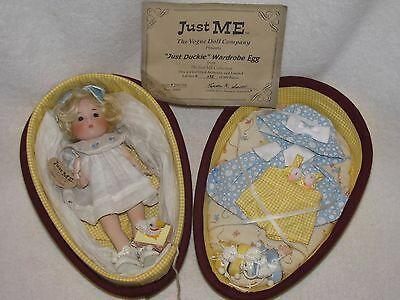 "NOT OFTEN SEEN 8"" Vogue Just Me Doll ""Just Duckie"" Wardrobe Egg MINT LE 95/500"