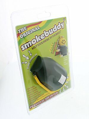 Smoke Buddy Personal Air Purifier Cleaner Filter Removes Odor (Black)