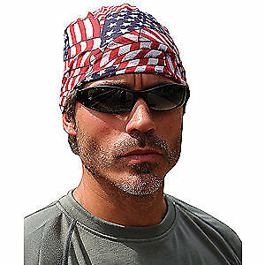 CHILL-ITS BY ERGODYNE Multi-Band,Universal,Polyester, 6485, Red, White and Blue