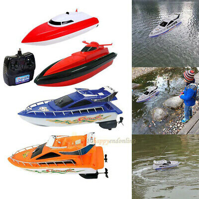 Kid Children RC Radio Remote Control Speed Boat Ship High Performance Toy Gifts