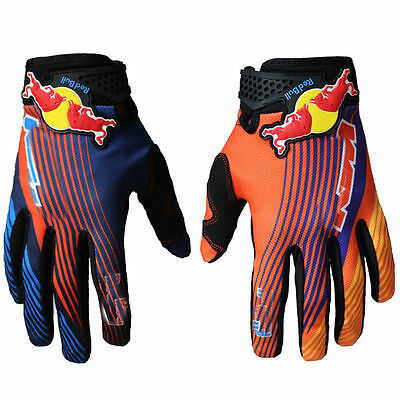Motorcycle Racing Gloves For RED/BULL Gloves Motocross Mountain Bike Cycling