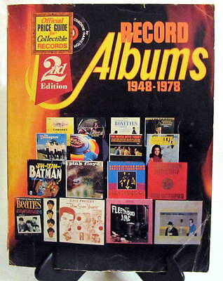 1948-1978 Official Price Guide for Collectible Records 2nd Edition Softback