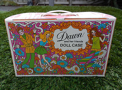 Vintage Topper Dawn Doll Case 1971 - Last One