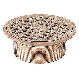 JAY R. SMITH MFG. CO Floor Drain Strainer,Round,5In Dia, A05NB