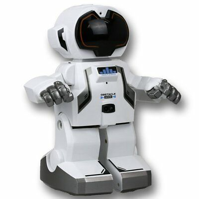 Silverlit Walking and Talking Robot Echo Bot with Remote Control White SL88308