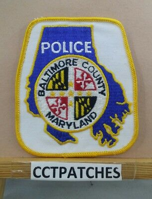 Baltimore County, Maryland Police Shoulder Patch Md 2