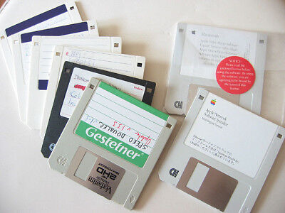 8x Computer PC Floppy Disks DS HD Double Density 1.2-1.44MB for PC Apple Mac etc