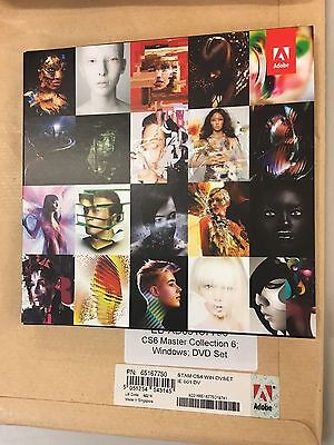 *** BRAND NEW ADOBE Master Collection CS6 Win DVD Set ***