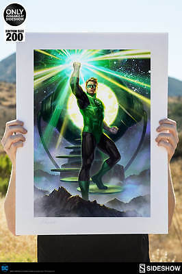 Green Lantern Premium Art Print by Sideshow, Unframed, SOLD OUT