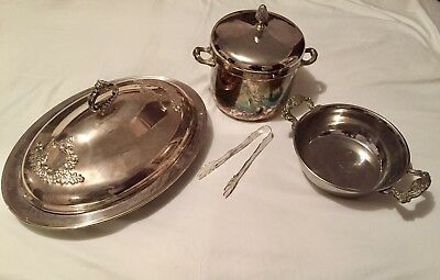 Antique Silver Plated Whole Set