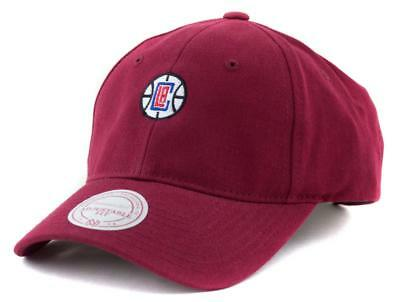 LA Clippers Cap - Mitchell & Ness NBA Hat - Mitchell And Ness In Burgundy