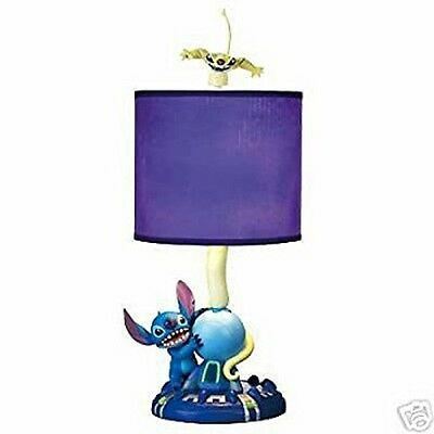 COLLECTIBLE Disney Lilo and Stitch Experiment 626 with Cousin Figure Lamp NIB