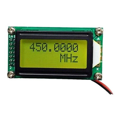 1 MHz ~ 1.1 GHz Frequency Counter Tester Measurement For Ham Radio PLJ-0802 G4J7
