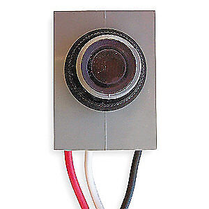 INTERMATIC Photocontrol,Fixed,208 to 277VAC, K4023C, Gray