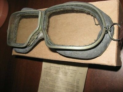 Soviet russian aviation pilot goggles WW2 model.