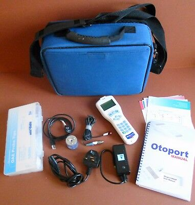 Otodynamics Otoport NHSP OAE Screening System Newborn hearing Otodynamics Probe
