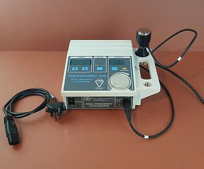 EMS Therasonic 450 Dual Frequency Ultrasound Therapy System+Ultrasound Probe