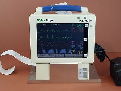 Welch Allyn Propaq 244 Vital Signs Patient Monitor,ECG,SpO2,NiBP,CO2,Masimo SpO2