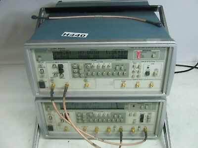 Tektronix CSA 907T & CSA 907R Bit Error Rate Test Set *Tested & Working*