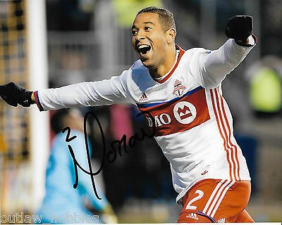 Toronto FC Justin Morrow Signed Autographed 8x10 Photo COA A