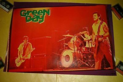 Green Day Japan Poster 1996 Unused Poster Article Not For Sale