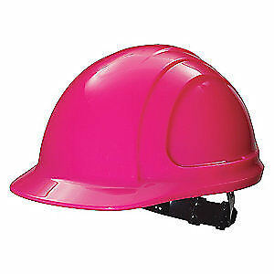 HONEYWELL NORTH Hard Hat,4 pt. Ratchet,Hot Pink, N10R200000, Hot Pink