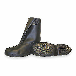 TINGLEY Overboots,Mens,2XL,Button,Blk,Rubber,PR, 1400, Black