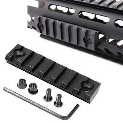 Polymer Slot M-LOK Rail Section Hand Guard Aluminum Alloy Sport Hunting