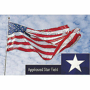 NYLGLO US Flag,20x30 Ft,Nylon, 1658