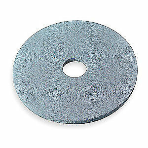 3M Non-Woven Nylon/Polyester Fiber Burnishing Pad,27 In,Aqua,PK5, 3100, Aqua