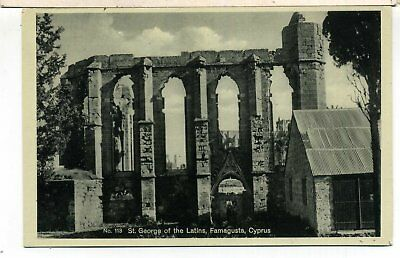 Cyprus Famagusta St George Of The Latins Glaszner #113