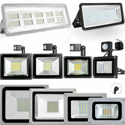 LED Floodlight Outdoor Garden 10W 20W 30W 50W 100W 200W 300W 500W Flood light