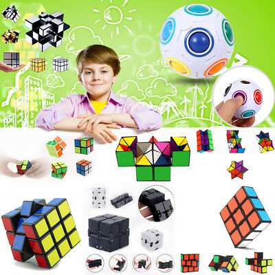 New Cube Magic Cube Ball Puzzle Mind Game Toy Classic Cube Gift Education Toy UK