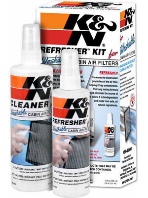 K&N Cabin Filter Cleaning Care Kit (99-6000)