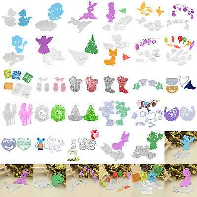Animal Christmas Metal Cutting Dies Stencil Scrapbook Paper Card Craft Embossing