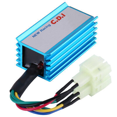 6 pin racing ac ignition cdi box gy6 atv scooter go kart moped 50cc-250cc