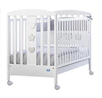 Nanna Babyhome Side Bed Rail Sponda Lettino Rossa