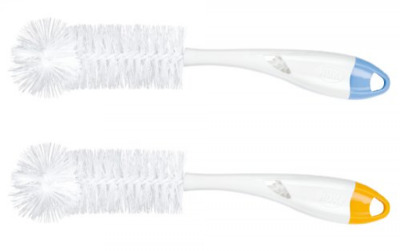 NUK 2 in 1 Bottle and Teat Brush(Colors may vary)