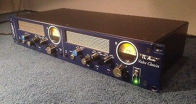 TL Audio PA-1 - 2 Channel Pentode Tube Microphone Mic Preamp