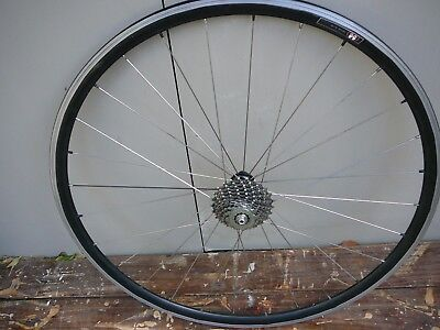 easton road bike / bicycle rear wheel -( shimano compatable 8.9 or 10 speed )