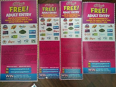 adults go free on london and other attractions voucher x 5