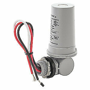 TORK Photocntrl,1/2 In. Conduit, Flush,120VAC, 2021, Gray